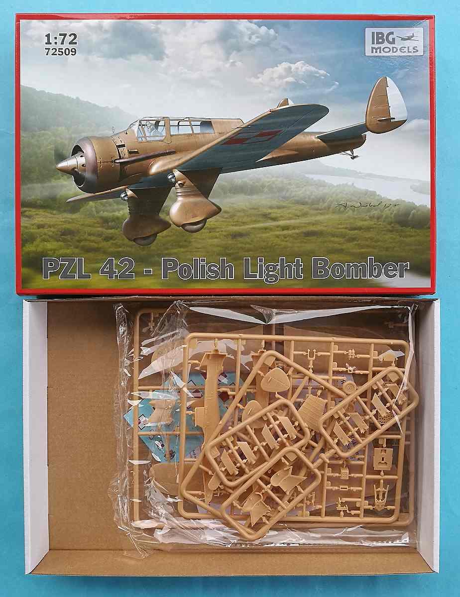 IBG-72509-PZL-P-9 PZL P.42 in 1:72 von IBG (# 72509)