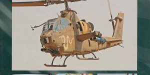Bell AH-1 Tzefa in Israel IsraDecal Publications