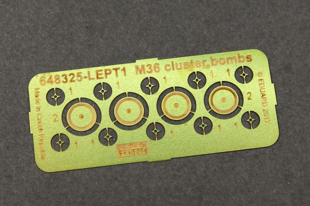 M36_Cluster_Bomb_Eduard_05 M36 Cluster Bomb - Eduard BRASSIN 1/48