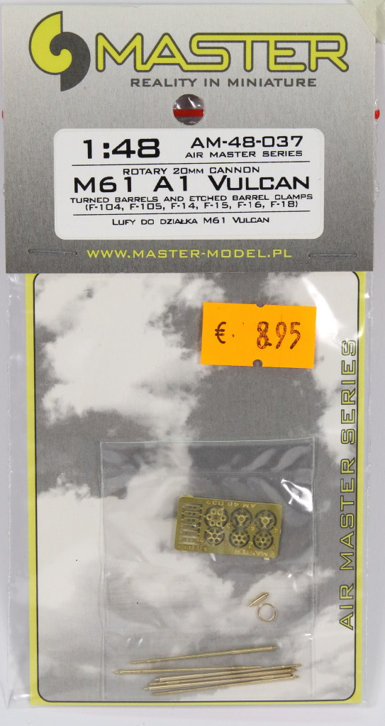 Master_M-61_06 M61 A1 Vulcan Gun - Master Model 1/48