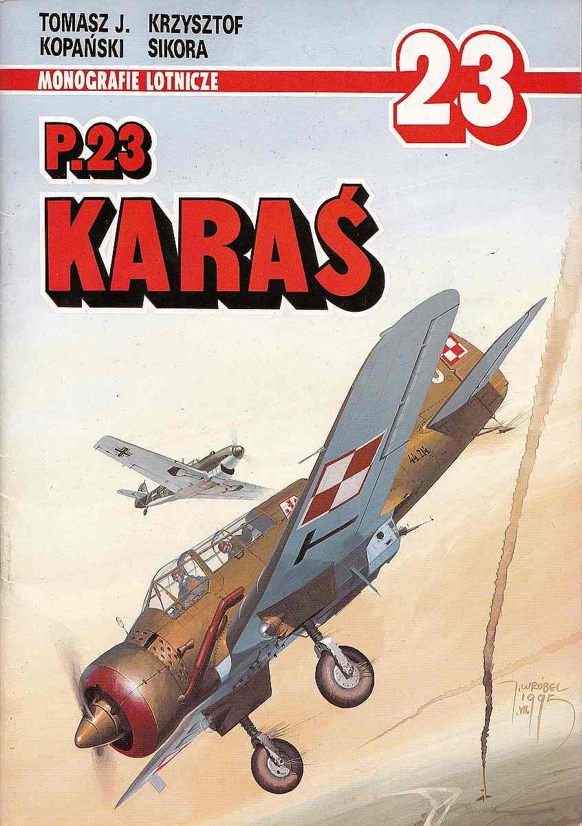 Monografie-Lotnicze-23-PZL-P-1 Literatur zur PZL P.23 Karas