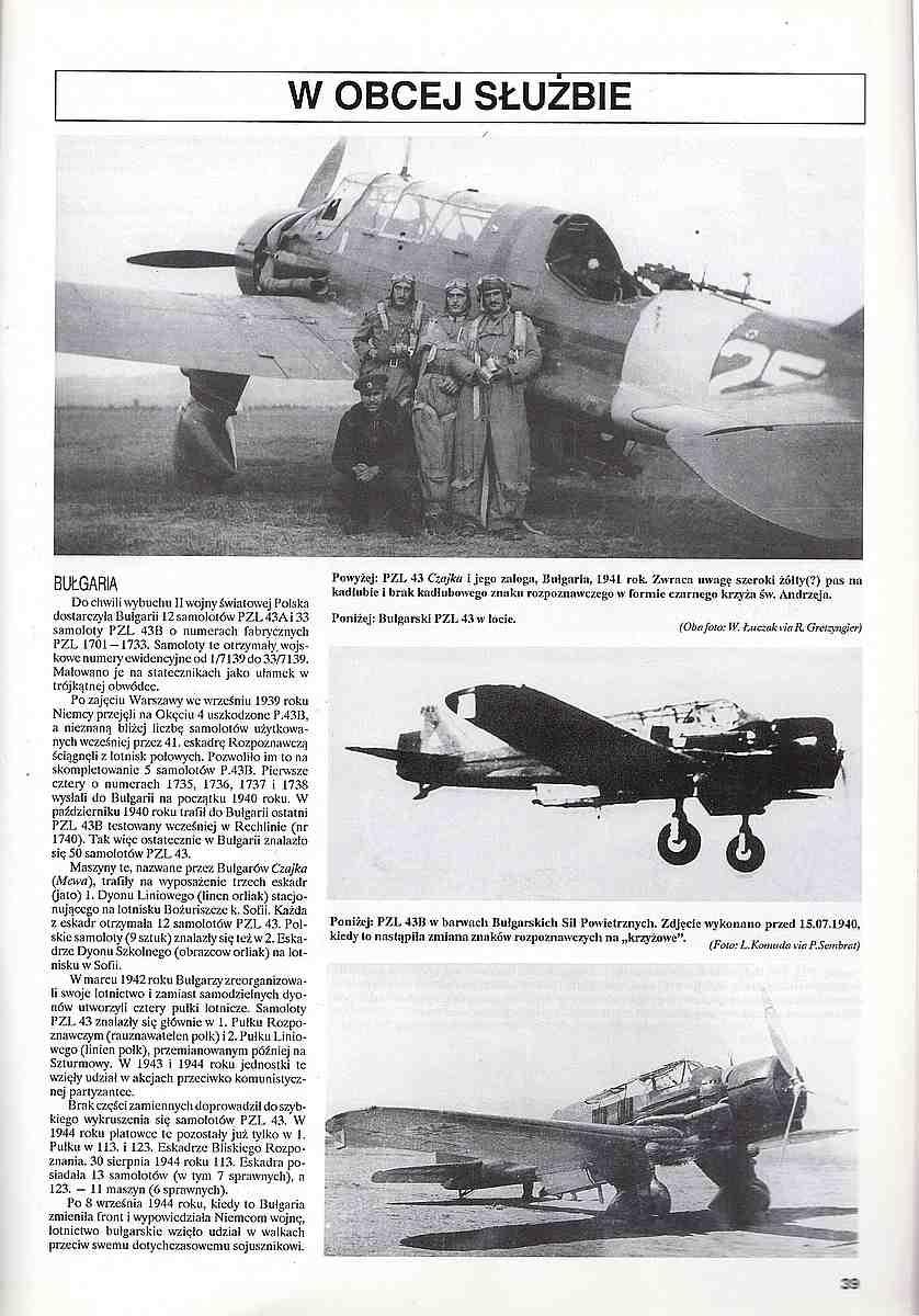 Monografie-Lotnicze-23-PZL-P-5 Literatur zur PZL P.23 Karas
