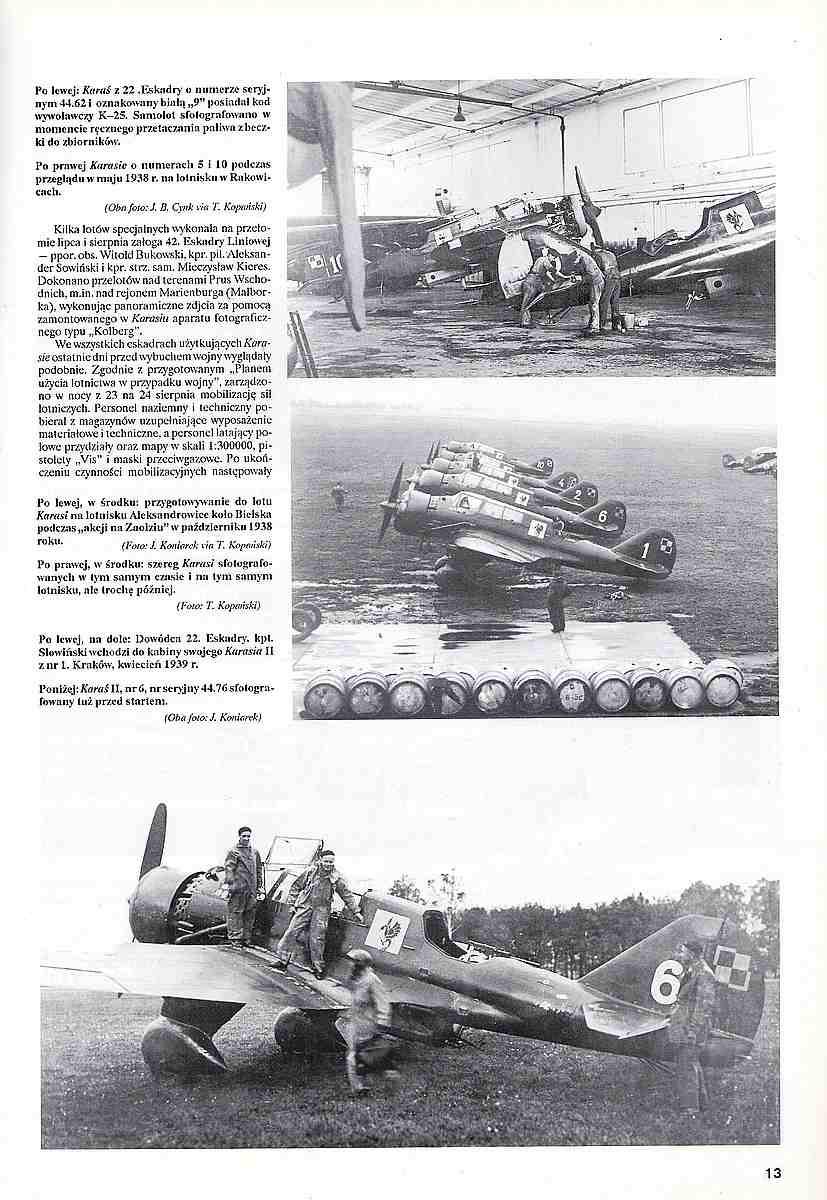 Monografie-Lotnicze-23-PZL-P-9 Literatur zur PZL P.23 Karas