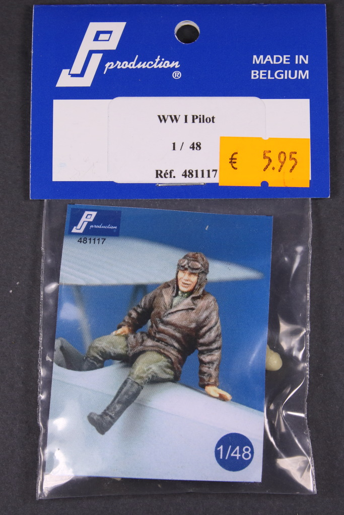 PJ-Production_WWI_Pilot_04 WWI Pilot - PJ Production 1/48