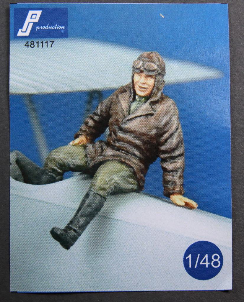 PJ-Production_WWI_Pilot_05 WWI Pilot - PJ Production 1/48