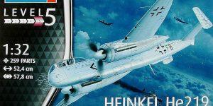 Heinkel He 219 A-0/A-2 in 1:32 von Revell (03928 )