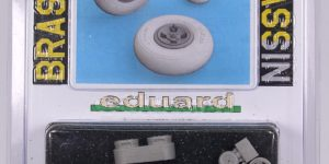 Spitfire Mk.IX wheels 4-spoke für Revell – EDUARD 1/32