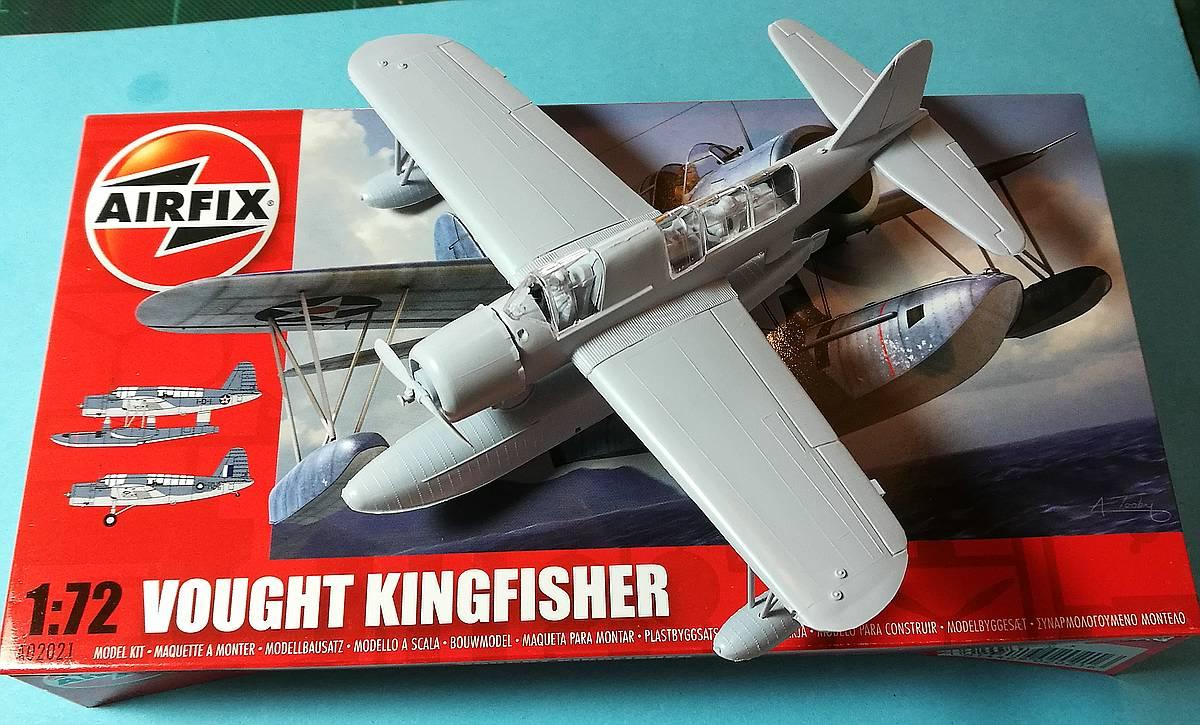 Tag-des-Modellbaus-2017-Airfix-Kingfisher-2 Tag des Modellbaus - die Bausätze