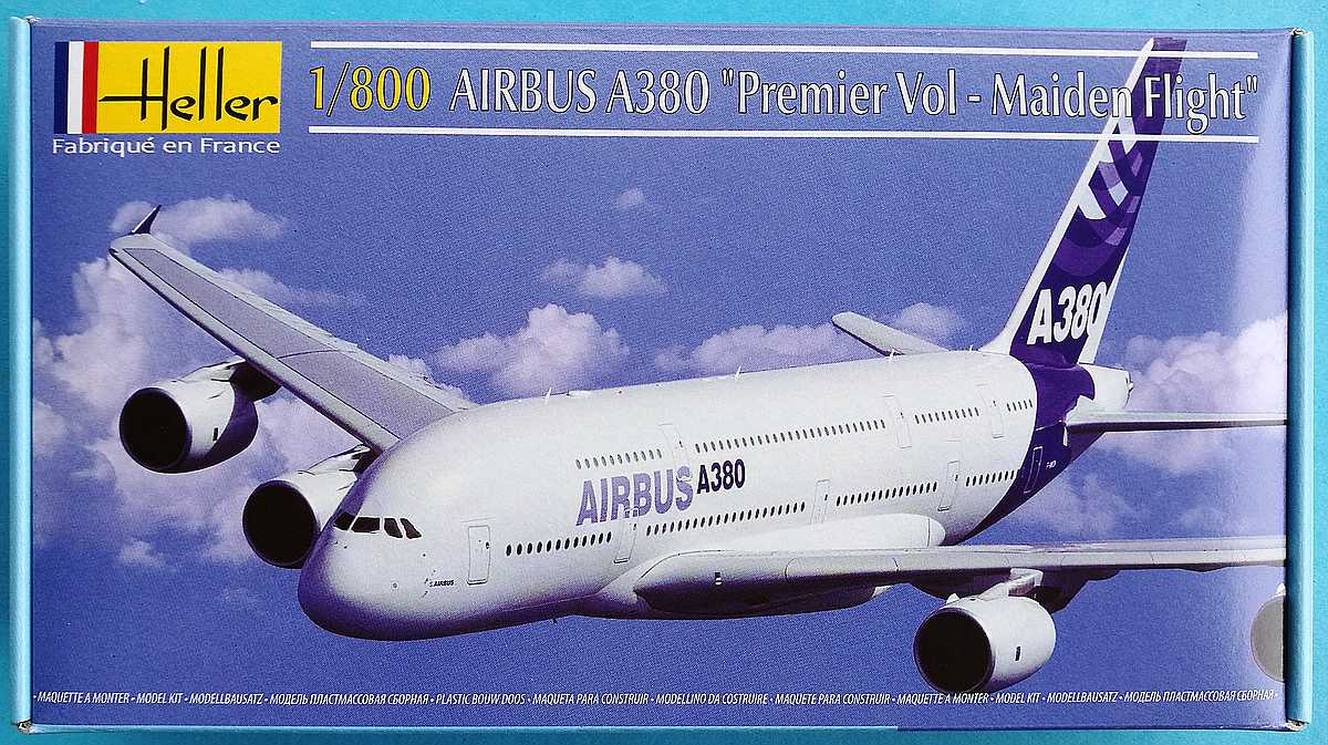 Tag-des-Modellbaus-2017-Heller-Airbus-A-380-1 Tag des Modellbaus - die Bausätze