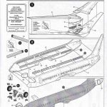 Zvezda-7019-Boeing-737-800-10-150x150 Boeing 737-800 in 1:144 von Zvezda ( 7019 )