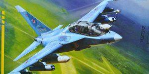 Yakovlev Yak-130 in 1:72 von Zvezda (7307)