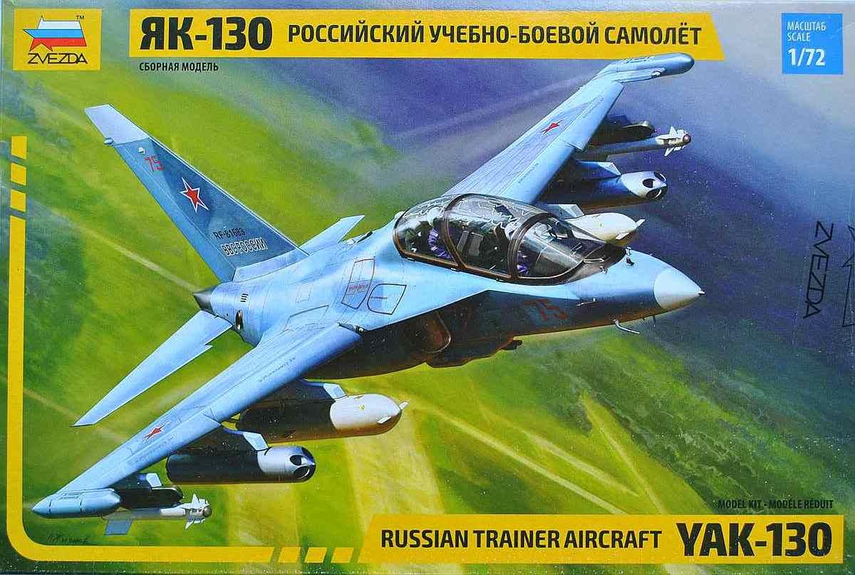 Zvezda-7307-Jak-130-14 Yakovlev Yak-130 in 1:72 von Zvezda (7307)