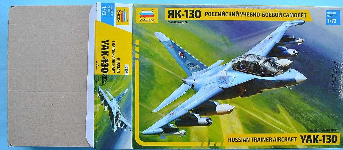 Zvezda-7307-Jak-130-15 Yakovlev Yak-130 in 1:72 von Zvezda (7307)