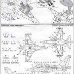 Zvezda-7307-Jak-130-Bauanleitung6-150x150 Yakovlev Yak-130 in 1:72 von Zvezda (7307)