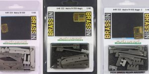 Matra R-530, R-550 Magic und R-550 Magic 2 – Eduard BRASSIN 1/48