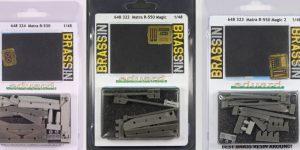 Matra R-530, R-550 Magic und R-550 Magic 2 – Eduard BRASSIN 1/48
