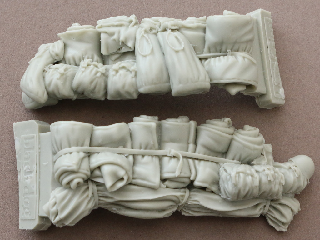 04 M4 Mortar Carrier big accessories set 1:35 Black Dog (#T35123)