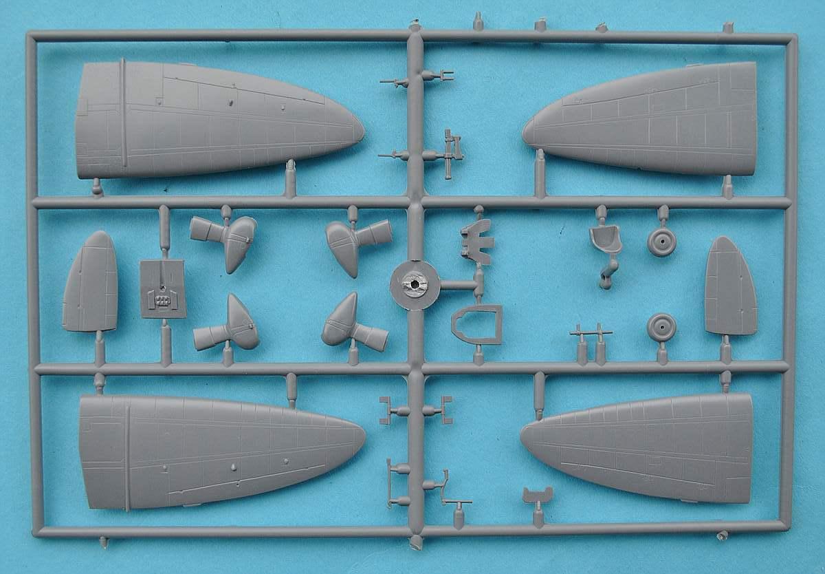"AVI-Models-72002-Mitsubishi-A5M3a-Claude-25 Mitsubishi A5M3a ""Claude"" mit Reihenmotor von AVIModels 72002"