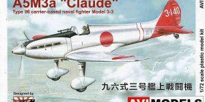 """Mitsubishi A5M3a """"Claude"""" mit Reihenmotor von AVIModels 72002"""