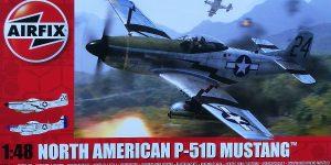 P-51D Mustang in 1:48 von Airfix A05131