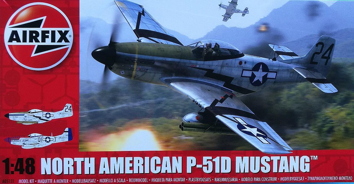 Airfix-A05131-P-51D-Mustang-1zu48-12 P-51D Mustang in 1:48 von Airfix A05131