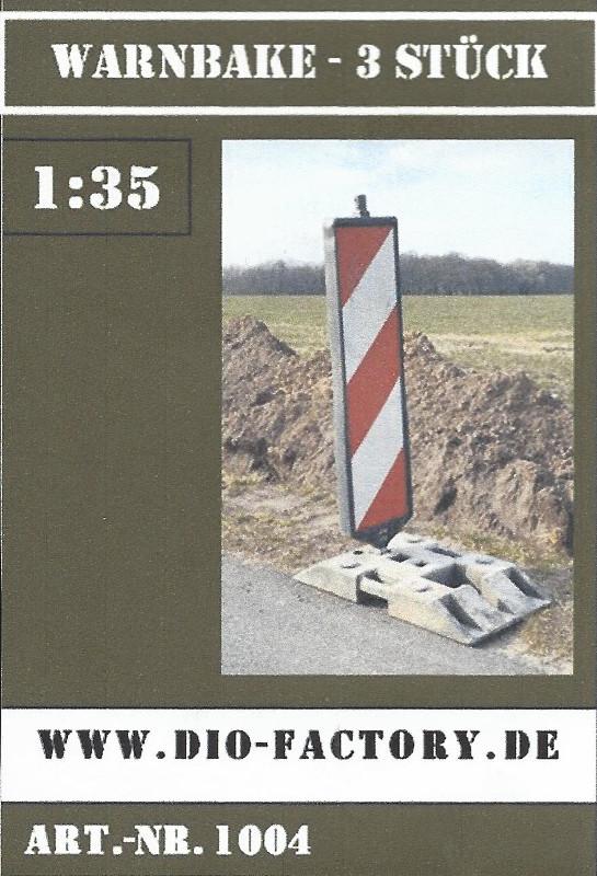 Boxart-1 Warnbake - 3 Stück 1:35 Dio-Factory Nr. 1004