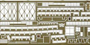 Relingset für die HCMS Snowberry von Revell im Maßstab 1:144 Eduard 53177