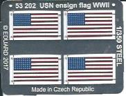Eduard-53202-USN-Ensign-Flag-WW-II-3 US Navy Ensign Flag in 1:350 (Eduard 53202)