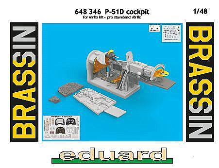 Eduard-648346-P-51D-Cockpit-5 EDUARD Zubehörsets für die P-51D Mustang von Airfix in 1:48