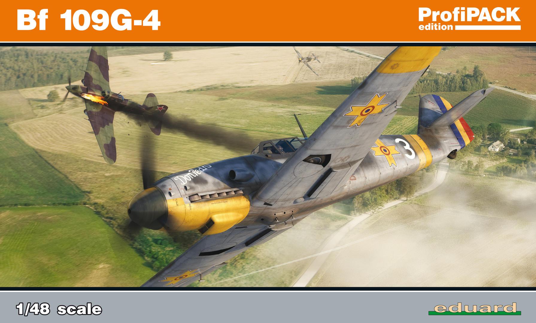 Eduard-82117-Bf-109-G-4-ProfiPack Bf 109 G-4 in 1:48 von Eduard (PROFIPACK 82117)