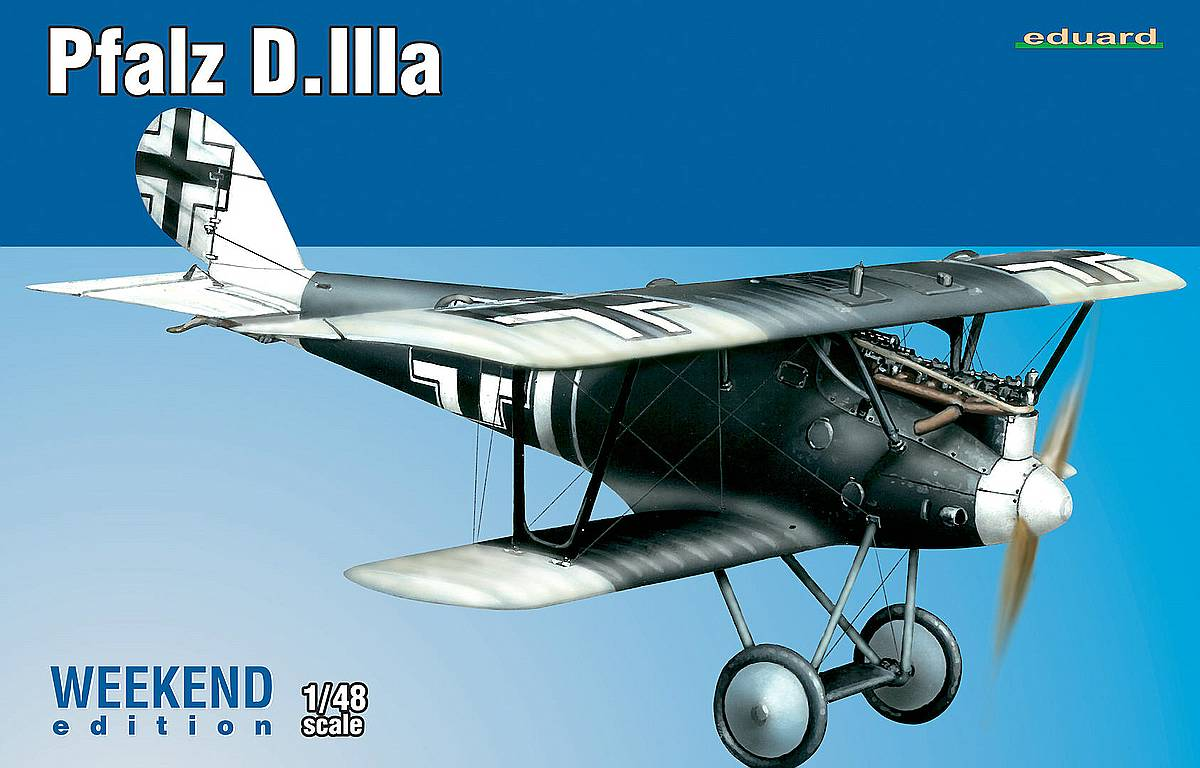 Eduard-8417-Pfalz-D.IIIa-WEEKEND-1 Pfalz D.IIIa WEEKEND in 1:48 von Eduard (8417)
