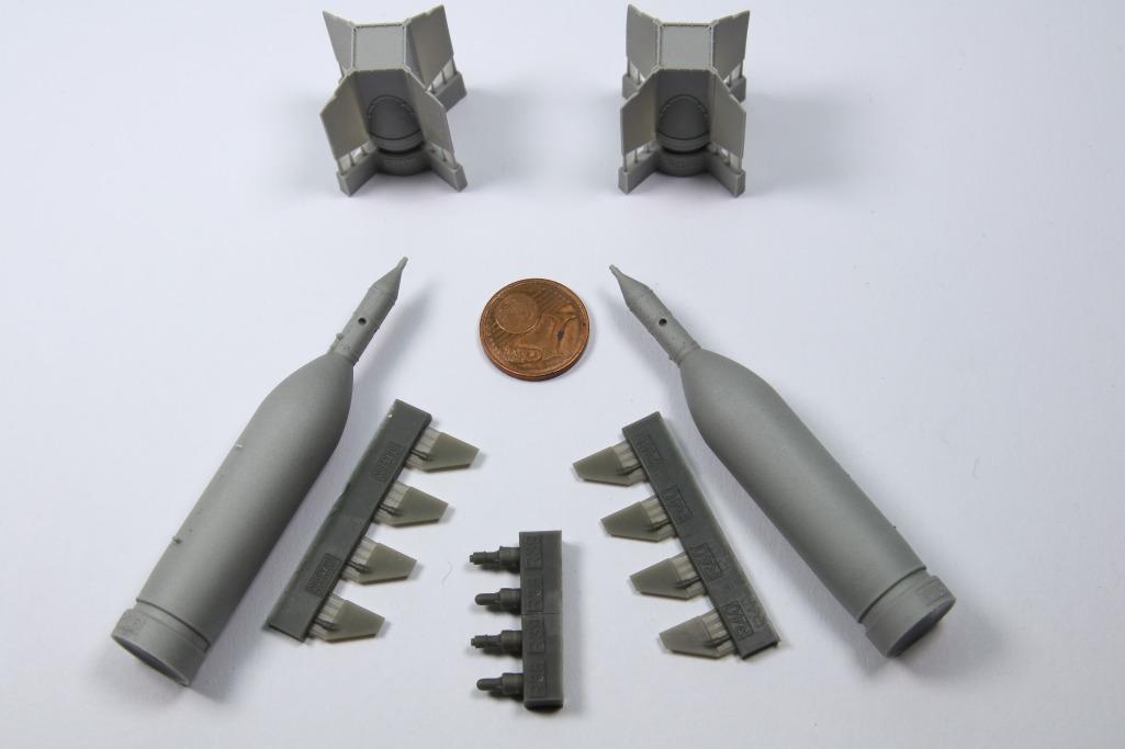 Eduard_BRASSIN_GBU-11_01 Lasergesteuerte 1400kg-Bombe GBU-11 - Eduard BRASSIN 1/48