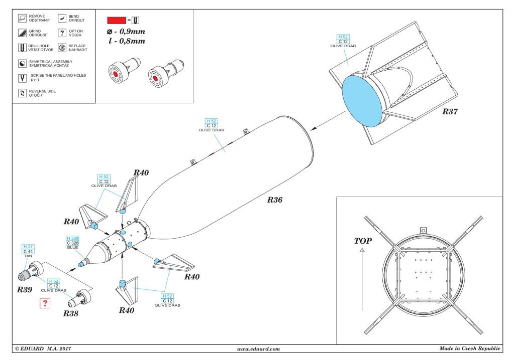 Eduard_BRASSIN_GBU-11_08 Lasergesteuerte 1400kg-Bombe GBU-11 - Eduard BRASSIN 1/48