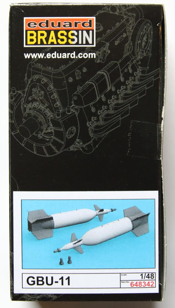 Eduard_BRASSIN_GBU-11_09 Lasergesteuerte 1400kg-Bombe GBU-11 - Eduard BRASSIN 1/48
