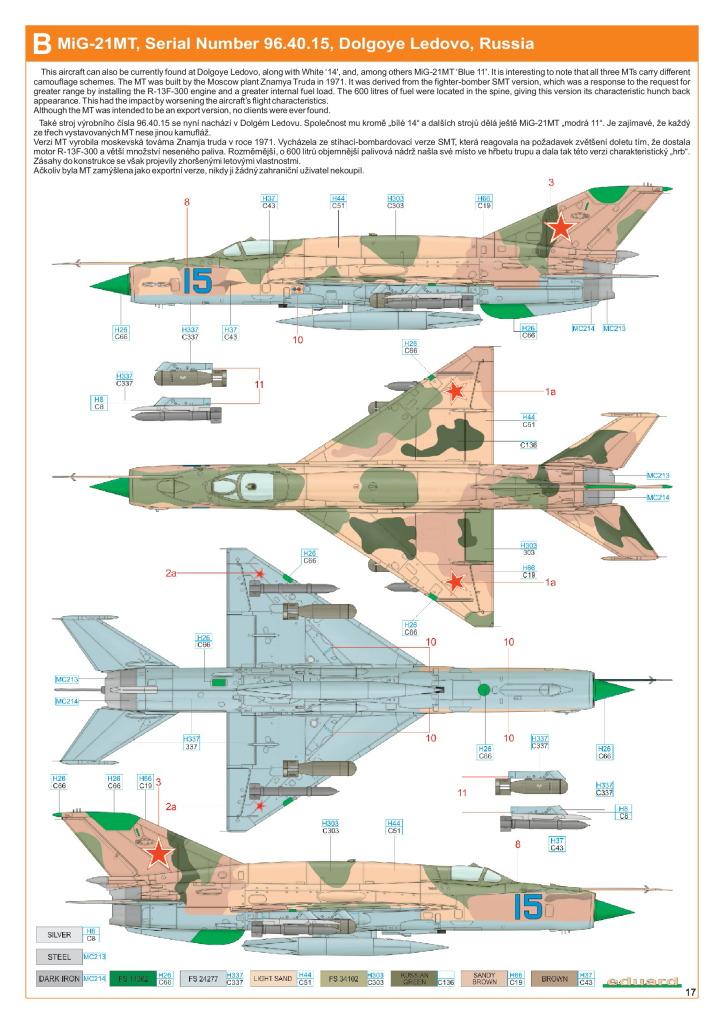 Eduard_MiG-21DMT_46 MiG-21SMT - Eduard 1/48