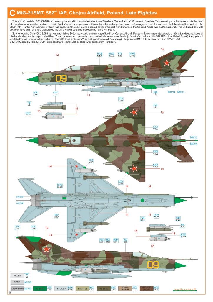 Eduard_MiG-21DMT_47 MiG-21SMT - Eduard 1/48