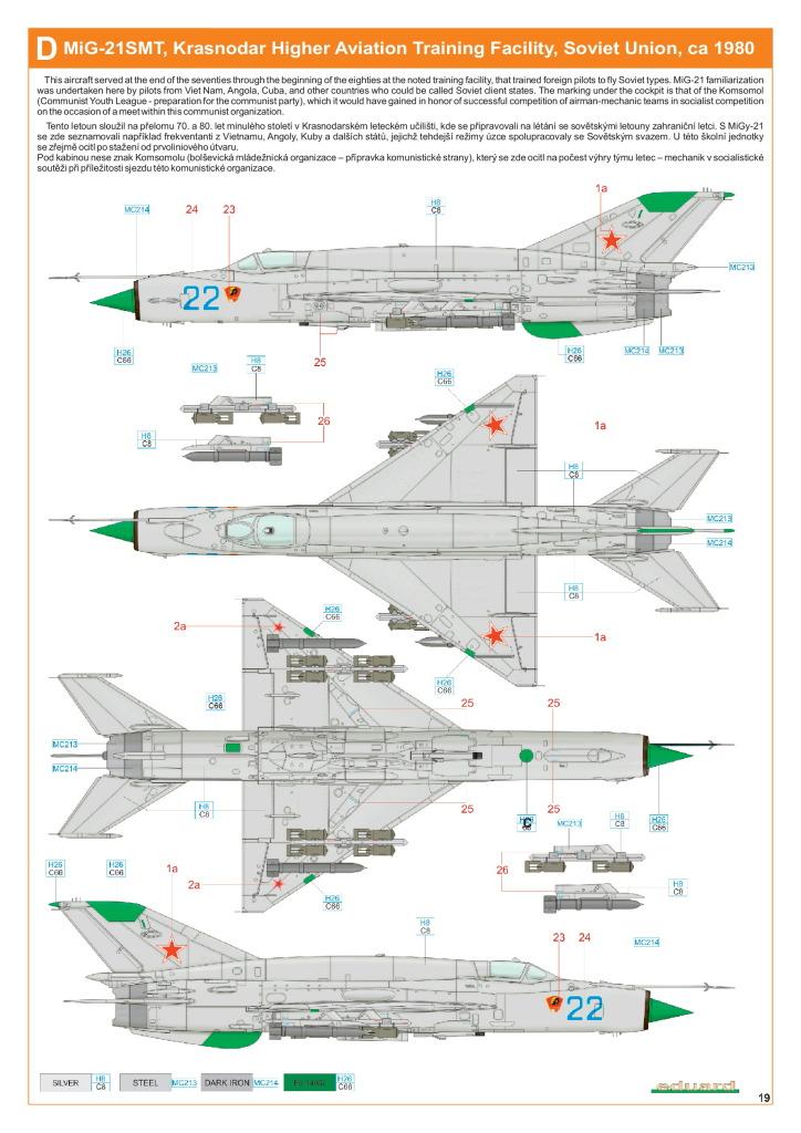 Eduard_MiG-21DMT_48 MiG-21SMT - Eduard 1/48