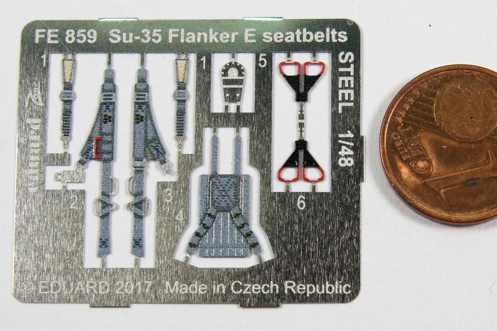 Eduard_Su-35KiHa_STEEL_02 Eduard-Sets für die Su-35 Flanker E von Kitty Hawk – 1/48