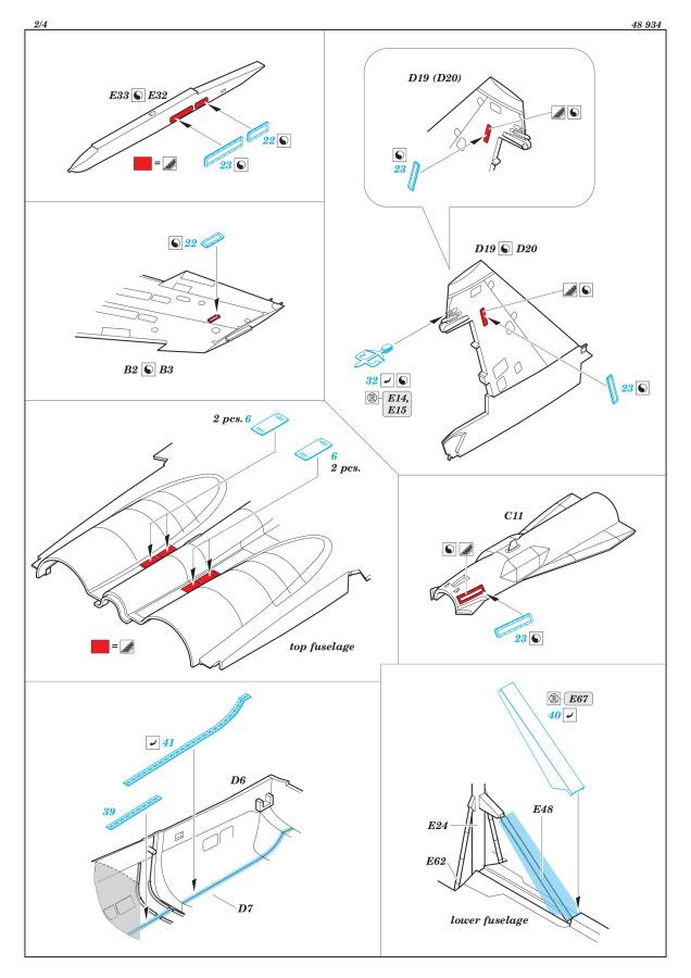 Eduard_Su-35KiHa_ext_06 Eduard-Sets für die Su-35 Flanker E von Kitty Hawk – 1/48