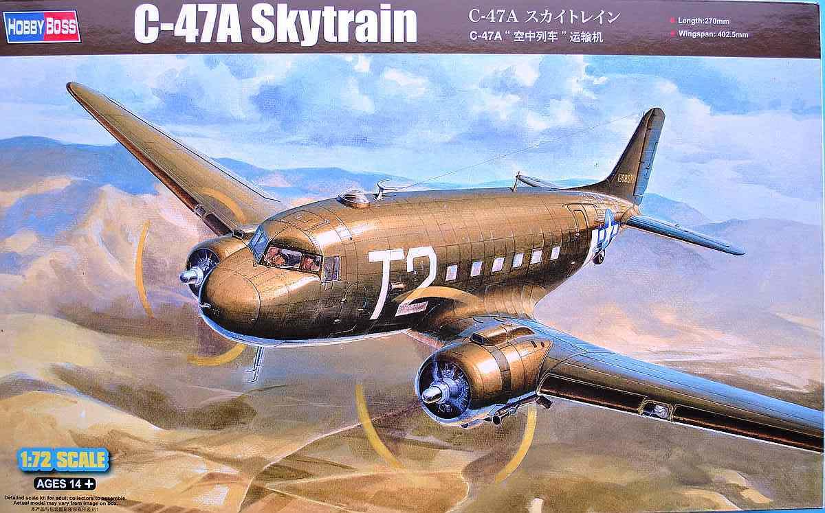HobbyBoss-87264-C-47A-Skytrain-12 C-47A Skytrain von Hobby Boss in 1:72 (87264)