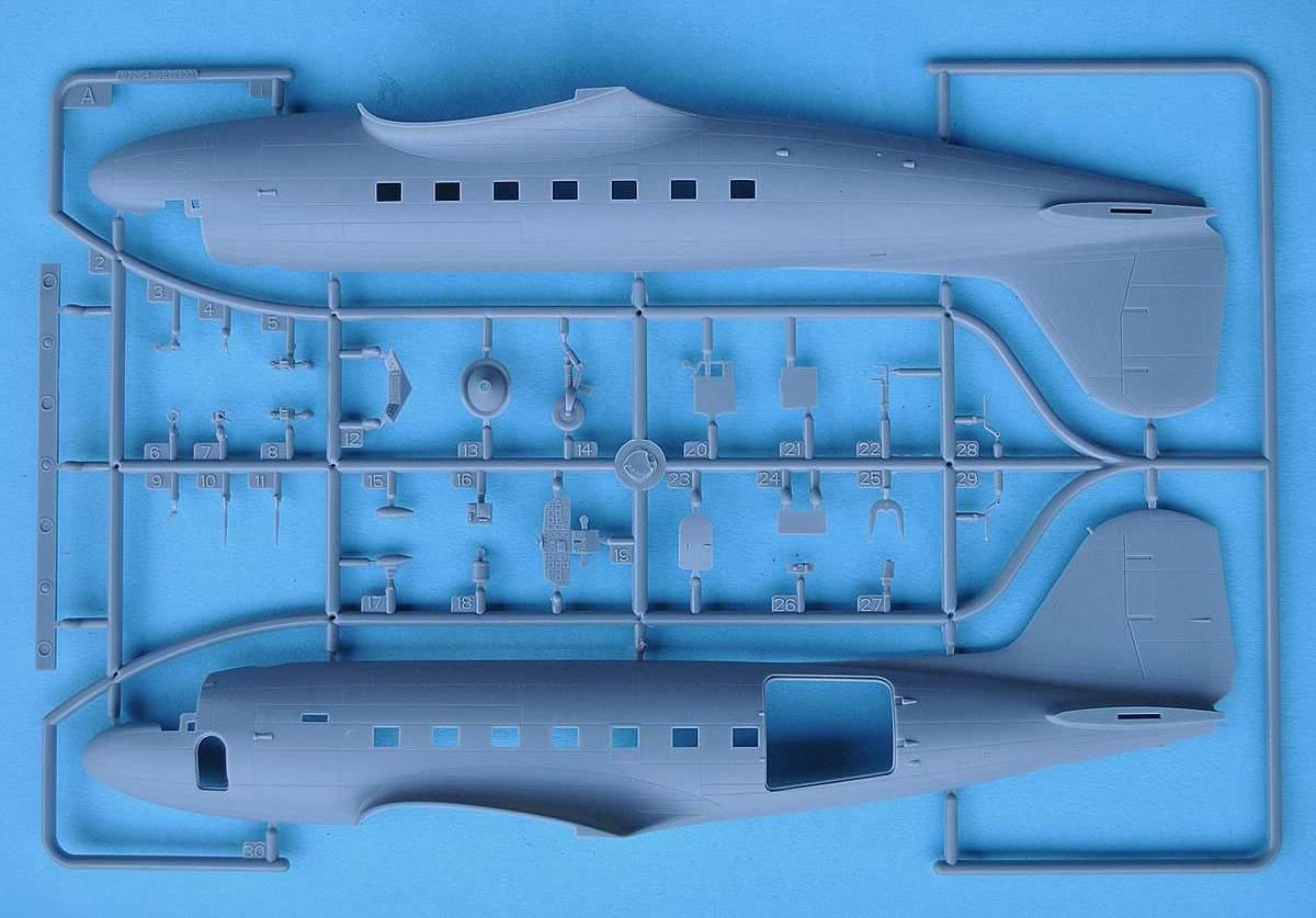 HobbyBoss-87264-C-47A-Skytrain-14 C-47A Skytrain von Hobby Boss in 1:72 (87264)