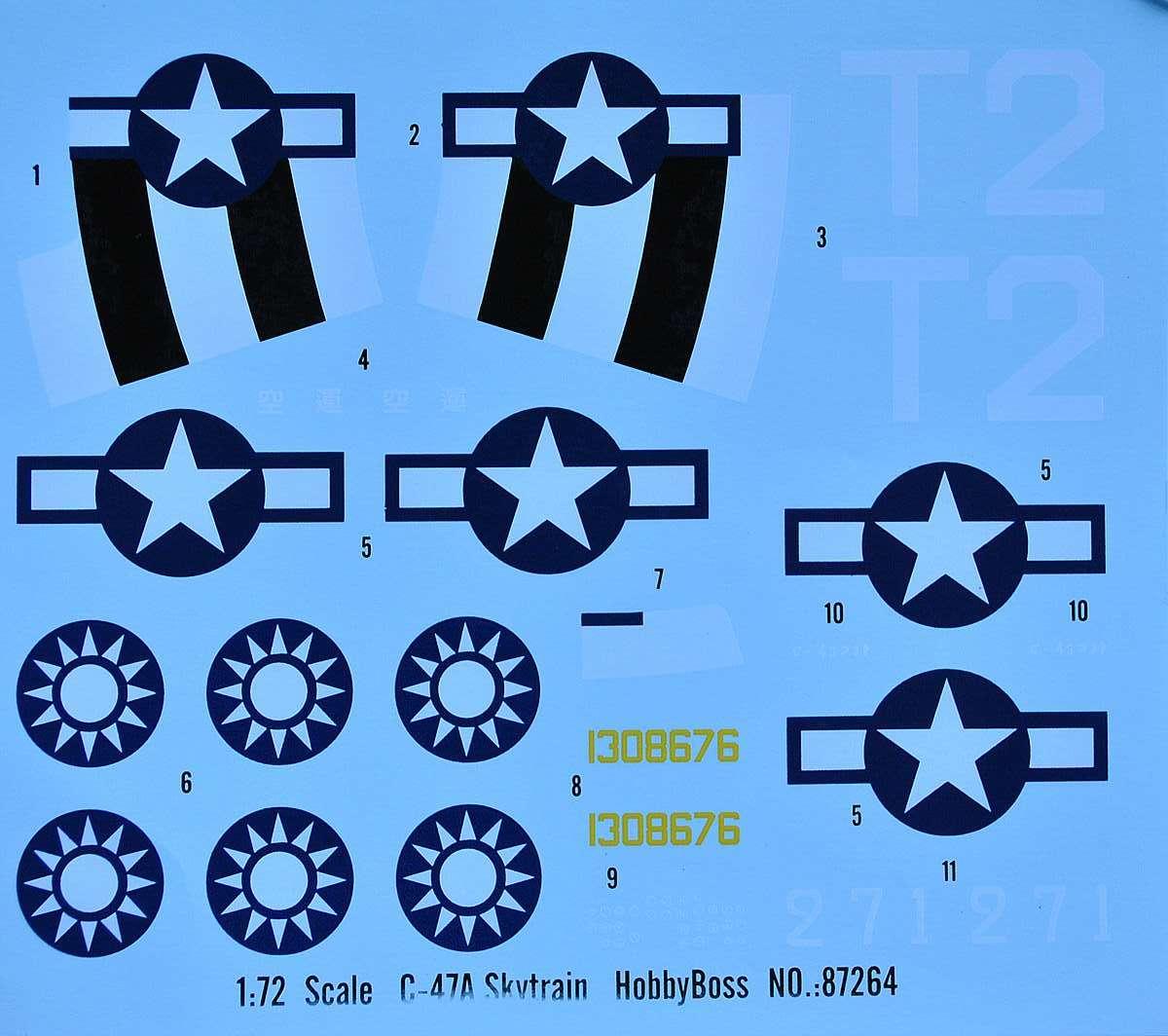 HobbyBoss-87264-C-47A-Skytrain-52 C-47A Skytrain von Hobby Boss in 1:72 (87264)