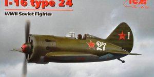 Polikarpov I-16 Typ 24 in 1:32 von ICM (32001)