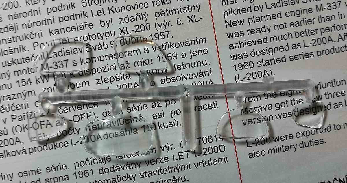 KPM-0089-Let-200A-Morava-11 Let L-200 Morava von KP Models in 1:72 (KPM 0089)