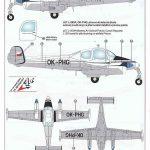 KPM-0089-Let-200A-Morava-14-150x150 Let L-200 Morava von KP Models in 1:72 (KPM 0089)