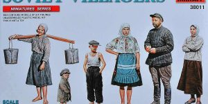 Soviet Villagers in 1:35 von MiniArt (# 38011 )