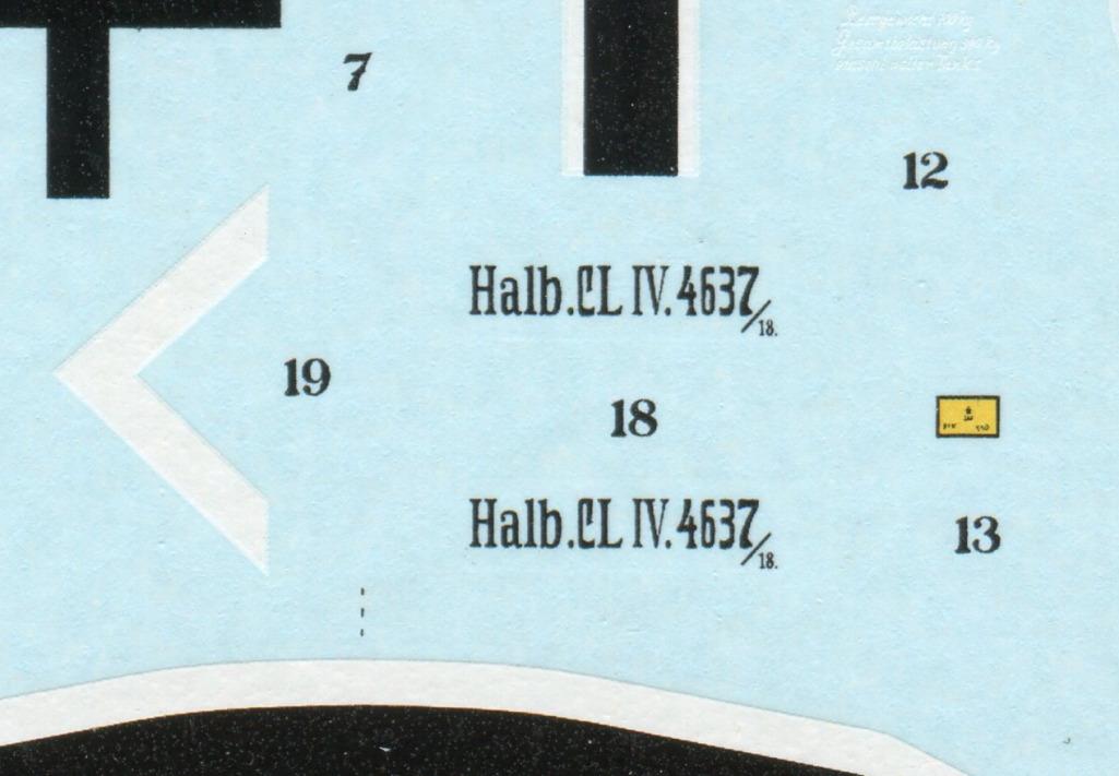 Mirage_Halberstadt_CL.IV_41 Halberstadt CL.IV H.F.W. (frühe Produktion) - Mirage Hobby 1/48