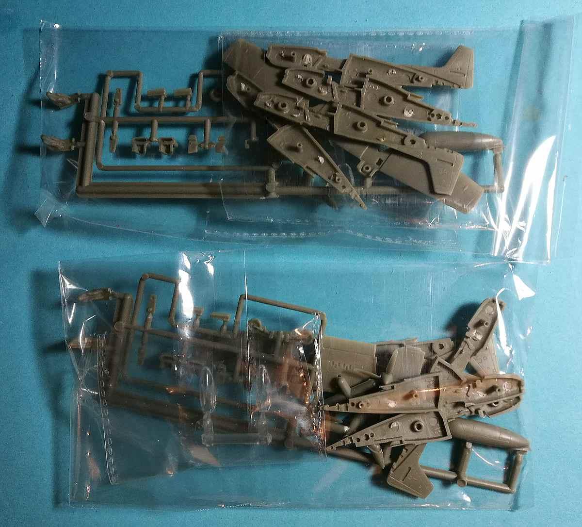 Platz-FC-3-Twin-Mustang-1zu144-8 Twin Mustang in 1:144 von Platz FC-3