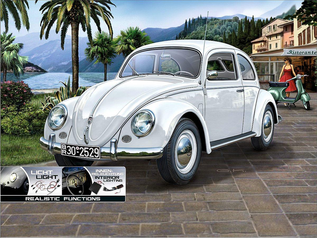 Revell-00450-VW-Käfer-1951-1952-Revell-Technik Die REVELL-Neuheiten Herbst 2017 und 1. Quartal 2018