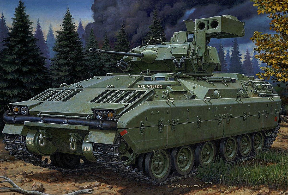 Revell-03143-M2-M3-Bradley Die REVELL-Neuheiten Herbst 2017 und 1. Quartal 2018